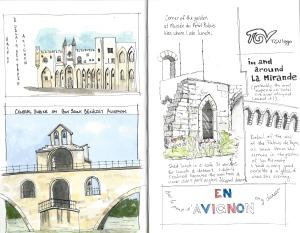 Scenes of Avignon